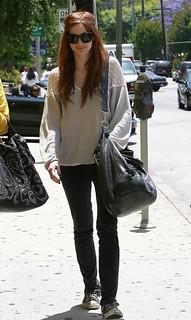 Ashlee Simpson Converse Celebrity Style Women's Fashion