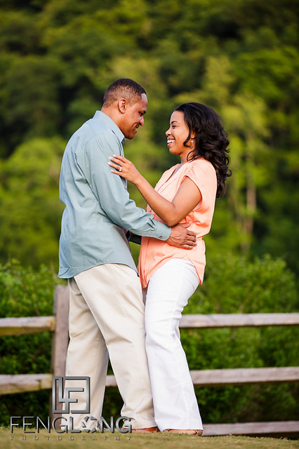 Shelley & CJ's Engagement Session | Heritage Green Park | Atlanta Wedding Photographer