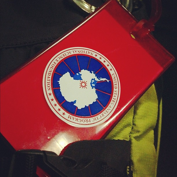 My new luggage tag... #Antarctica