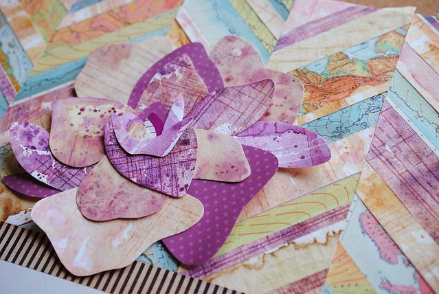 violet grunge rose2