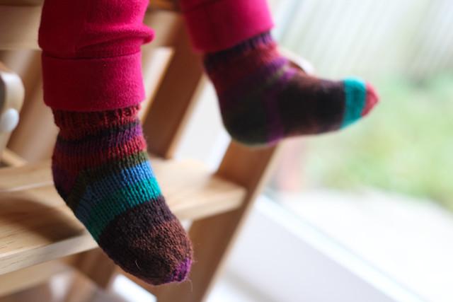 Baby socks, 12-18 months