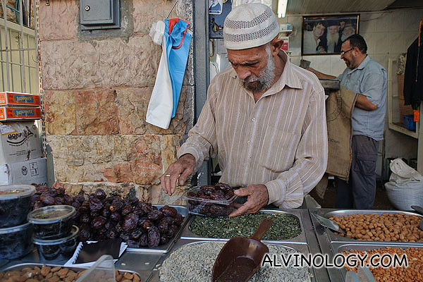 I bought some dried dates from this guy