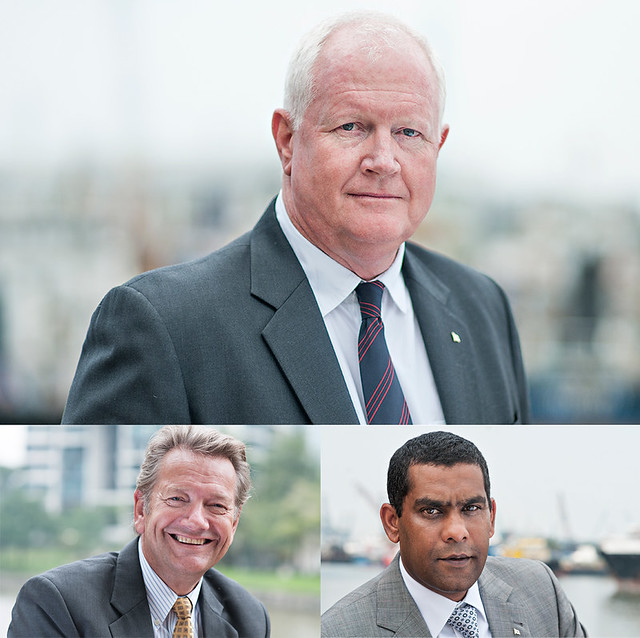 Corporate Portraits for Wilhelmsen Shipping Services