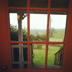 Front-door morning view.