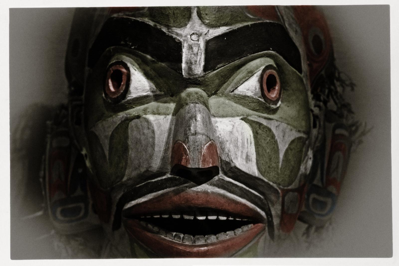 American Museum of Natural History - Kwakiutl Mask