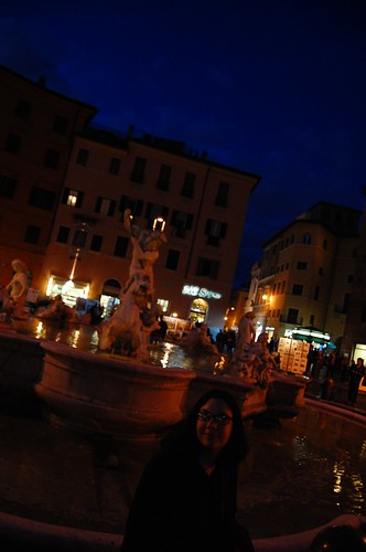 Piazza Navona fountain