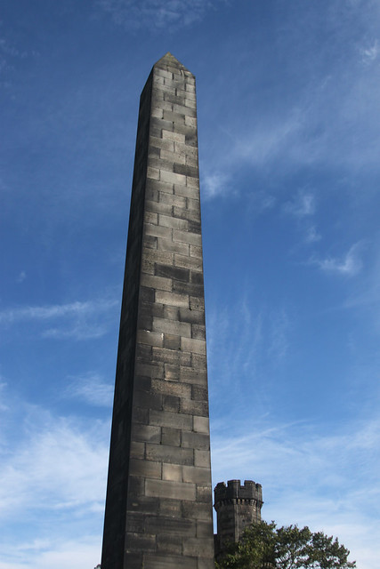 Obelisk and Blue Sky