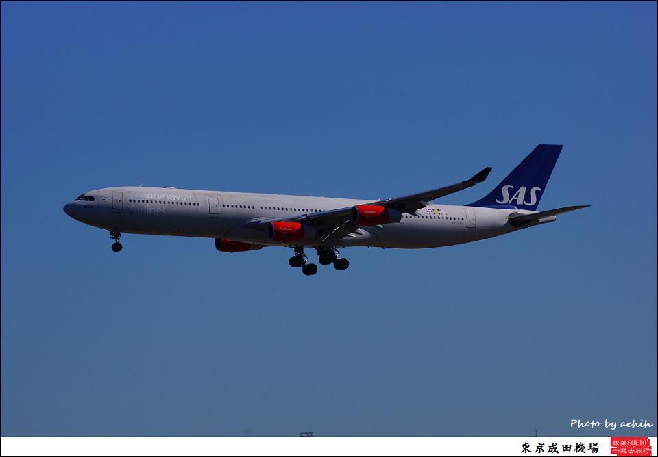 Scandinavian Airlines - SAS / OY-KBA / Tokyo - Narita International