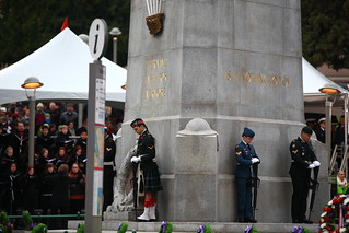 Remembrance Day Ceremony 2012 @ Victory Square Park