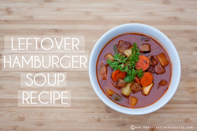 Leftover Hamburger Soup Recipe
