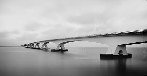 Zeeland Bridge by Nathalie Stravers