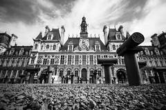 Hôtel de ville de Paris, par Franck Vervial