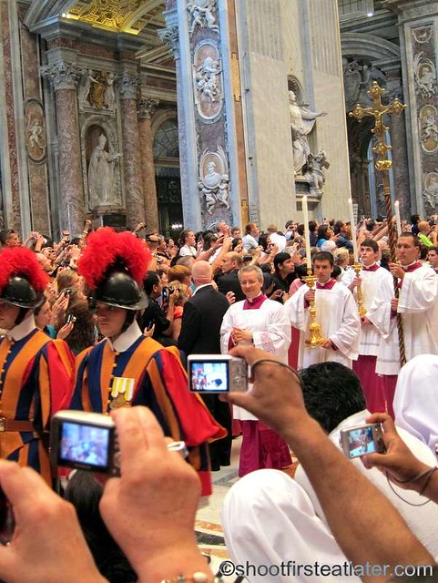 Papal mass at the Vatican-001