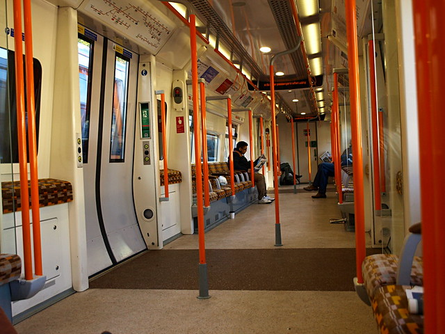 London Underground train, the Tube