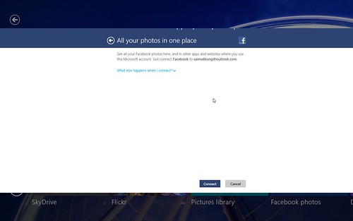 Windows 8 Facebook Photo
