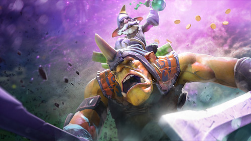 DOTA 2 Adds Troll Warlord And All Random Game Mode