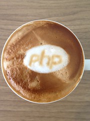 Today's latte, PHP.