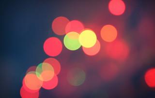 First Christmas Lights