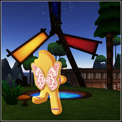 Gingerbread Avatar wings accessory