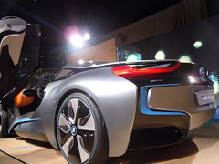 automobile, automotive exterior, exhibition, wheel, vehicle, automotive design, auto show, concept car, land vehicle, supercar, sports car,