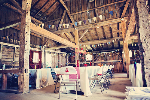 Barn Reception Decor by RachIgnatiev