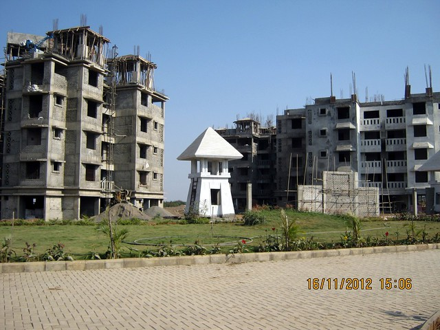 Two Buildings of Elite Green Acres at Kanhe