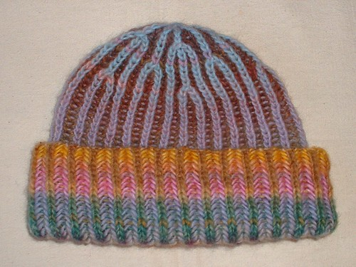 my amazing brioche hat 2