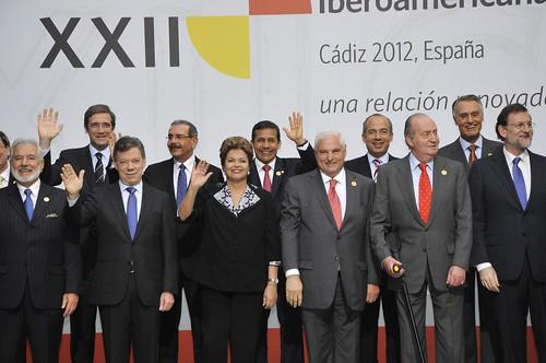 Foto oficial de la Cumbre de Cadiz