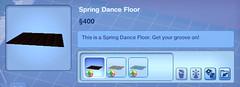 Spring Dance Floor