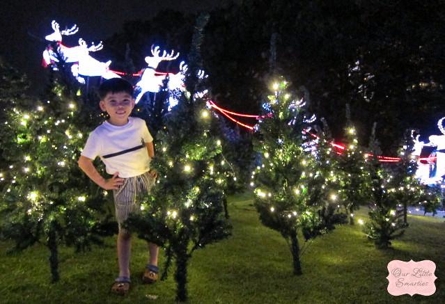 Edison at Christmas Village