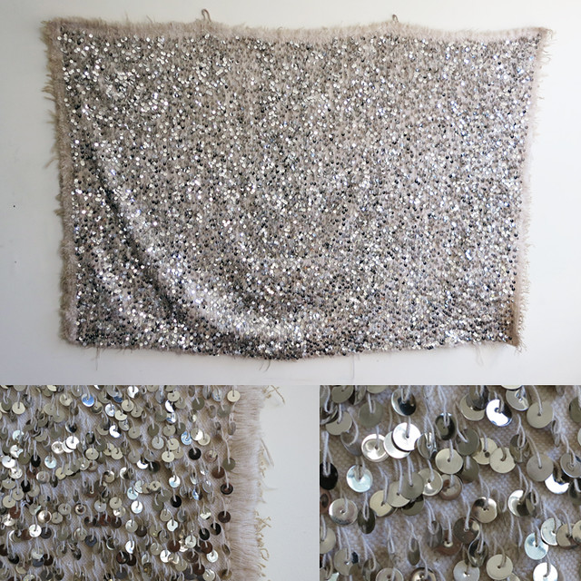diy home sequin wall hanging a pair a spare