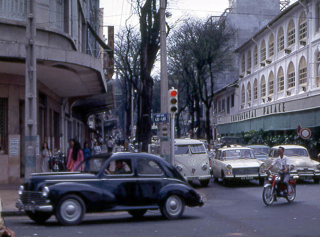 Saigon 1968 - Tu Do Street - Photo by John F. Cordova