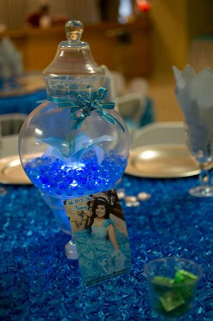 8199990893 7bb5b15c5d z jpgQuinceanera Centerpieces Blue