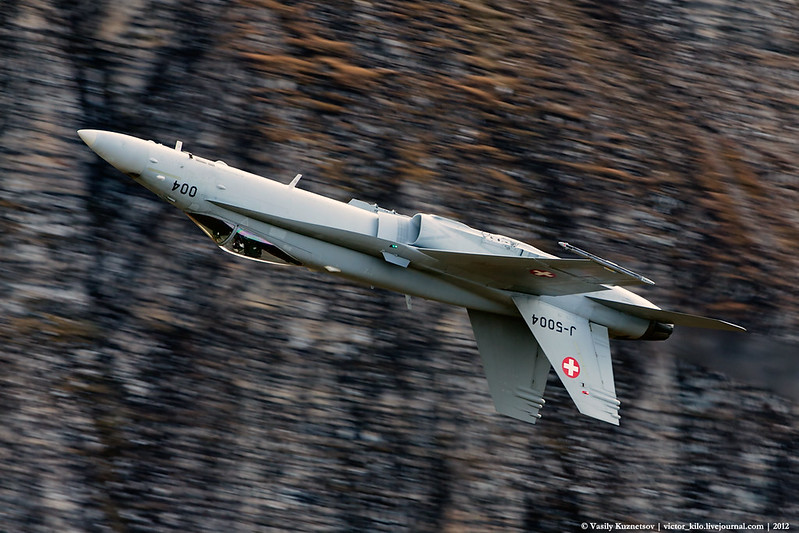 Swiss Airforce F/A-18