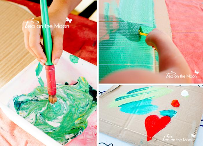 Cumpleaños indios pintando1