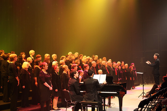 The Royal Opera House Thurrock Community Chorus performing at Awake in Chorus! © Paul Starr/ROH 2012