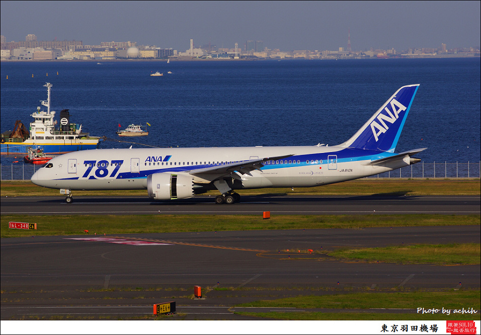 All Nippon Airways - ANA / JA810A / Tokyo - Haneda International