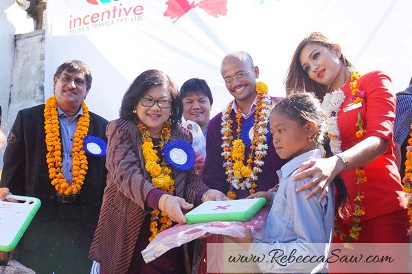 air asia x CSR One laptop one child program - Kathmandu Nepal-013