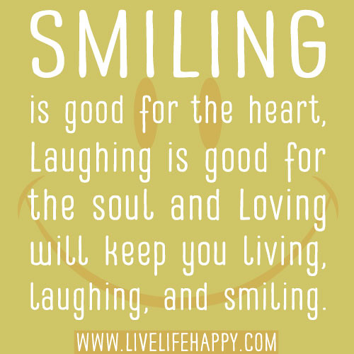 quotes about laughter and smiling - photo #20