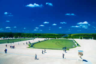 Garden of Versailles - Tilt Shifted
