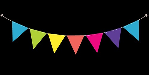 Bunting---Dots-and-Stripes---Rainbow---13