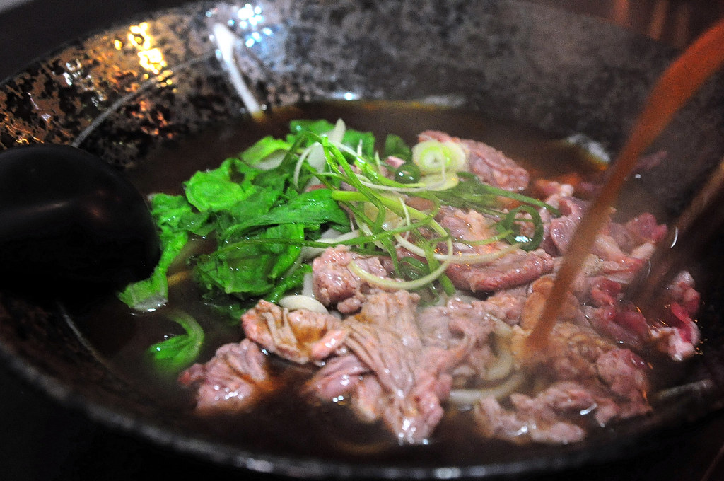 鈜景牛肉 - 刺身牛肉麵 - 特饌御肉片