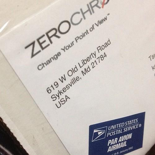 zerochroma iPhone5ケースがアメリカから届きましたー! うれし。あとはiPhone5を手に入れるだけです(おいw)