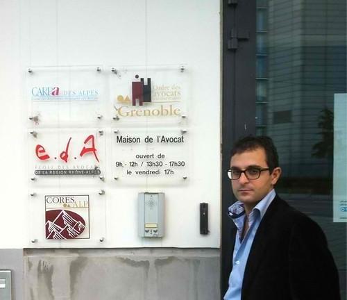 Débat à la maison de l'avocat de Grenoble sur internet et le droit avec l'UEJF by Arash Derambarsh