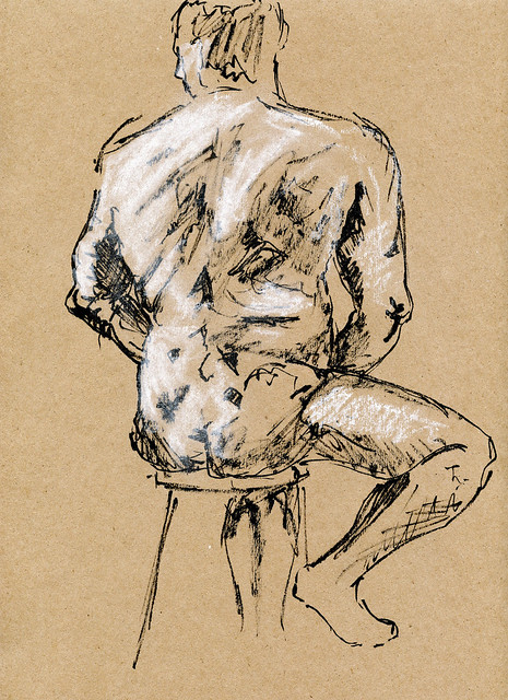 Life Drawing at Harcourt House-4