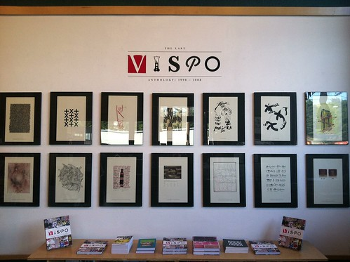 Last Vispo at the Fantagraphics Bookstore & Gallery