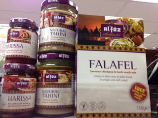 Tahini & Falafel at the Co-Op