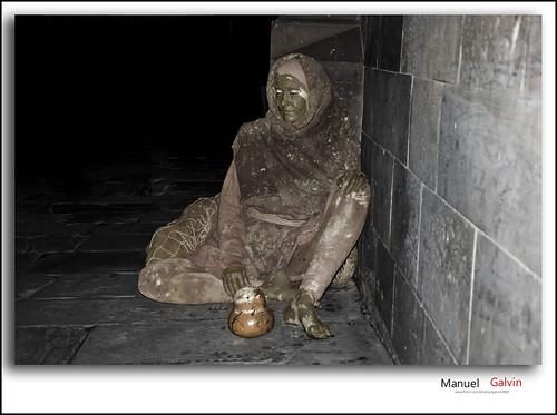 Estatuas humanas en Barcelona by galvin2008