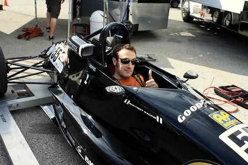 In a Racecar