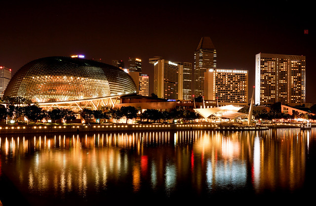 Singapore - Esplanade – Theatres on the Bay
